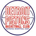1966 Detroit Pistons Logo