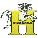1968 Houston Mavericks Logo