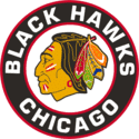 1958 Chicago Black Hawks Logo