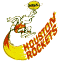 1972 Houston Rockets Logo