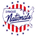 1955 Syracuse Nationals Logo
