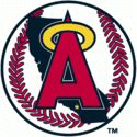 1990 California Angels Logo