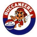 1969 New Orleans Buccaneers Logo