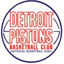 1963 Detroit Pistons Logo