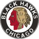 1938 Chicago Black Hawks Logo
