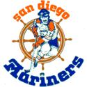 1977 San Diego Mariners Logo
