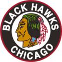 1955 Chicago Black Hawks Logo