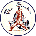 1961 Washington Senators Logo