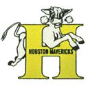 1968 Houston Mavericks Logo