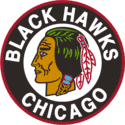 1955 Chicago Black Hawks Logo