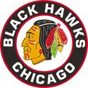 1957 Chicago Black Hawks Logo