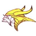 1961 Minnesota Vikings Logo