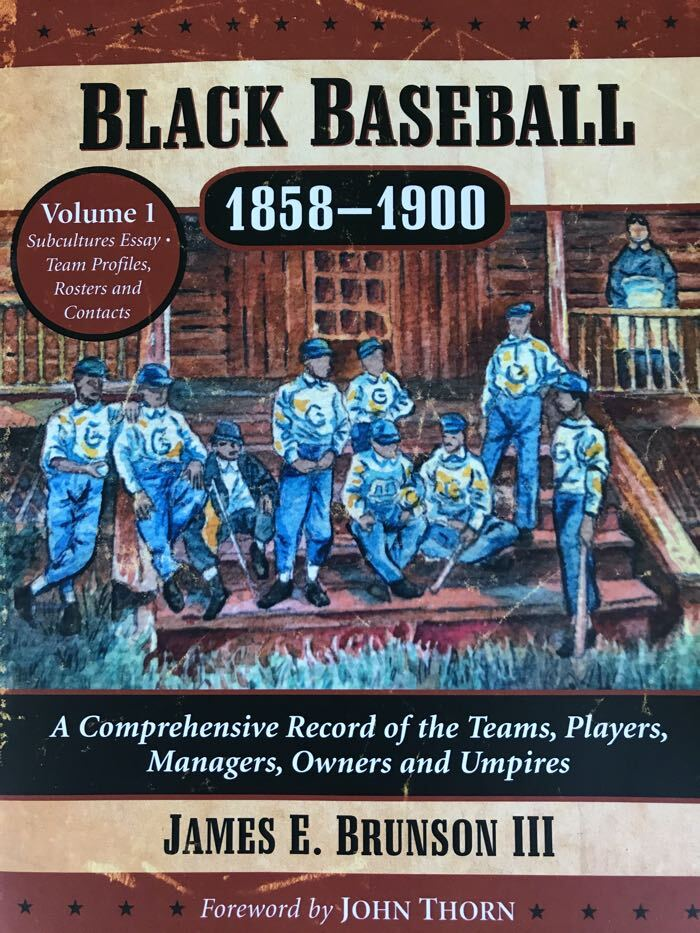 Cover of Black Baseball, 1858-1900