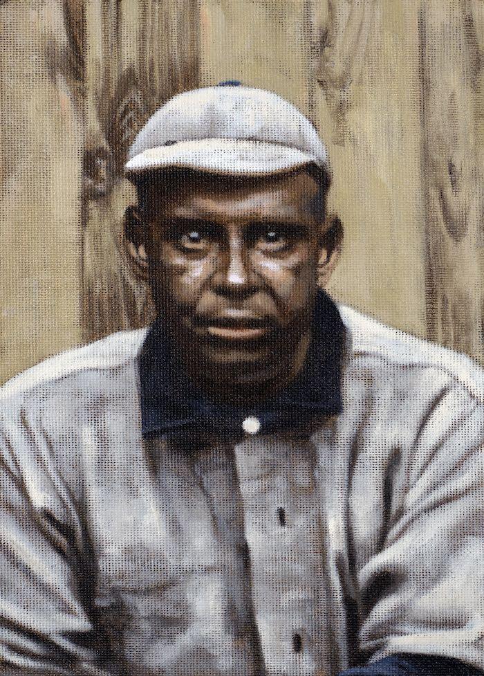 Painting of Frank Grant by Graig Kreindler