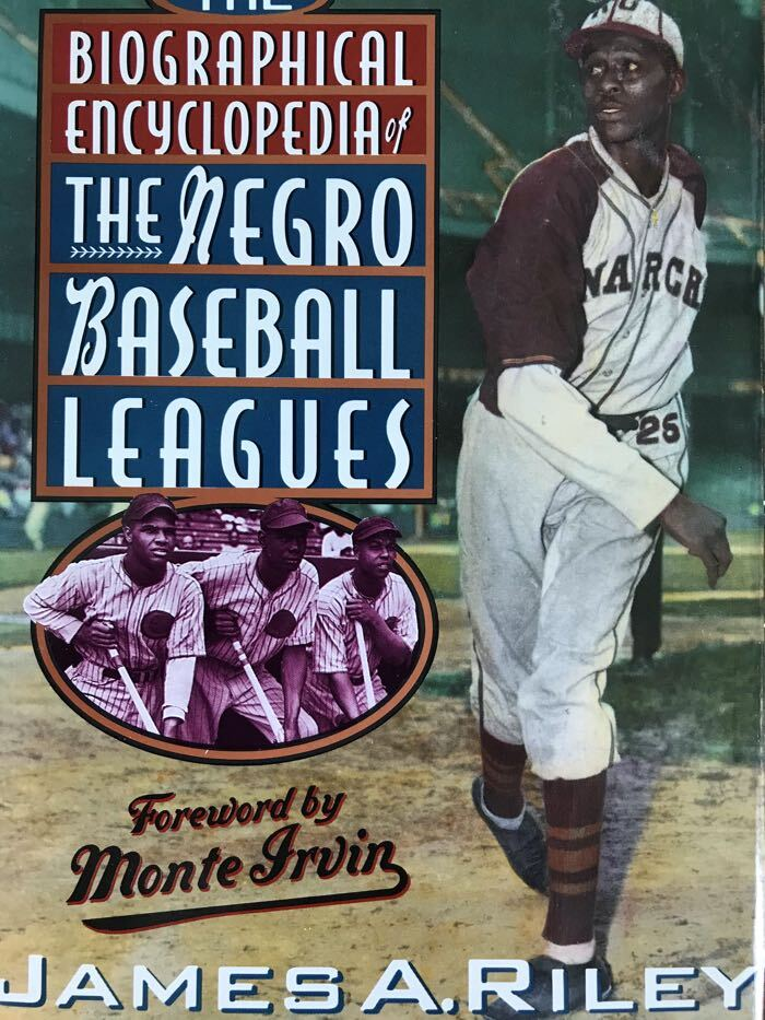 Cover of Biographical Encyclopedia of the Negro Baseball Leagues